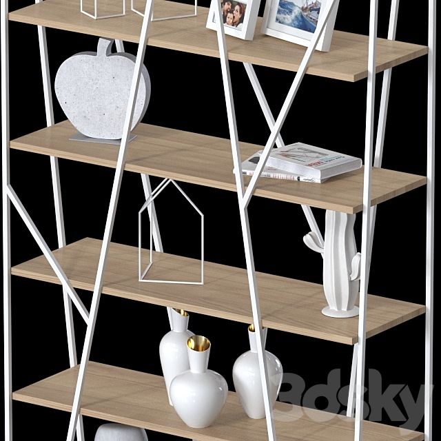 Double-sided shelving 032.