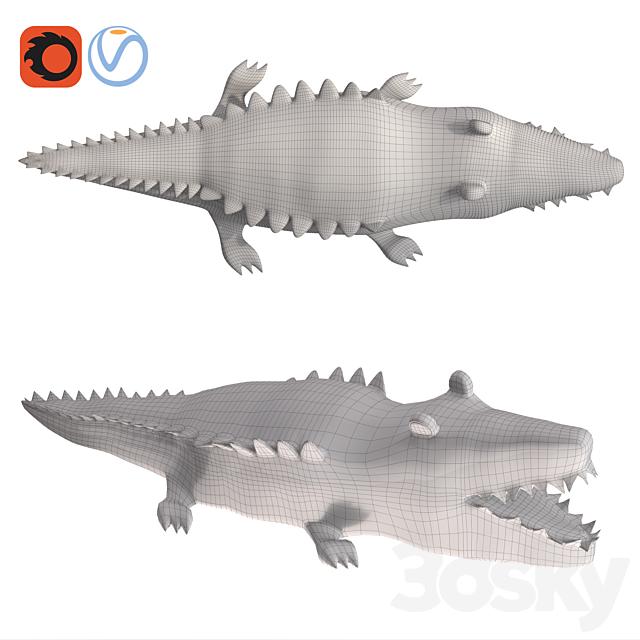 Stuffed Animal-Crocodile Toy Plush for Kid