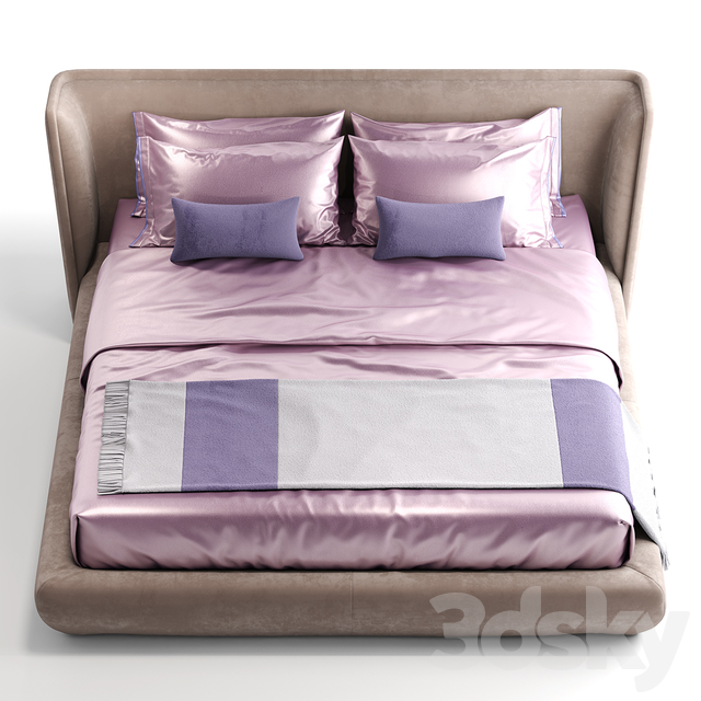 Bed baxter metropolis plain