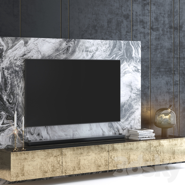 Tv wall set 13