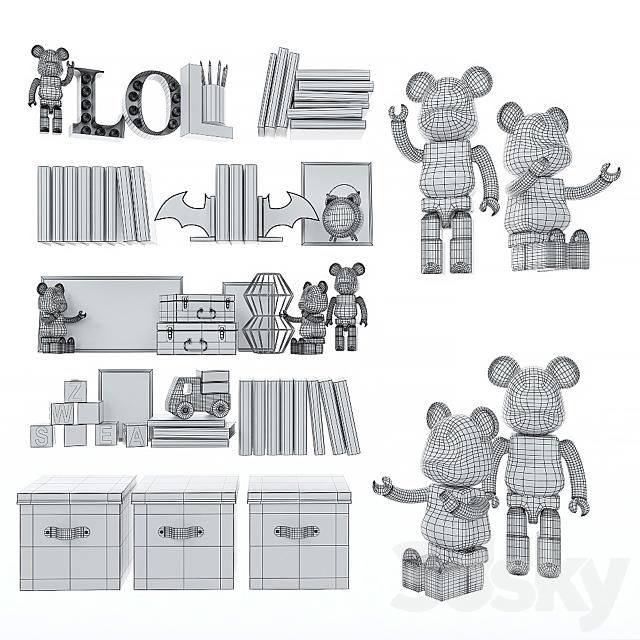 Decorative set for children 7