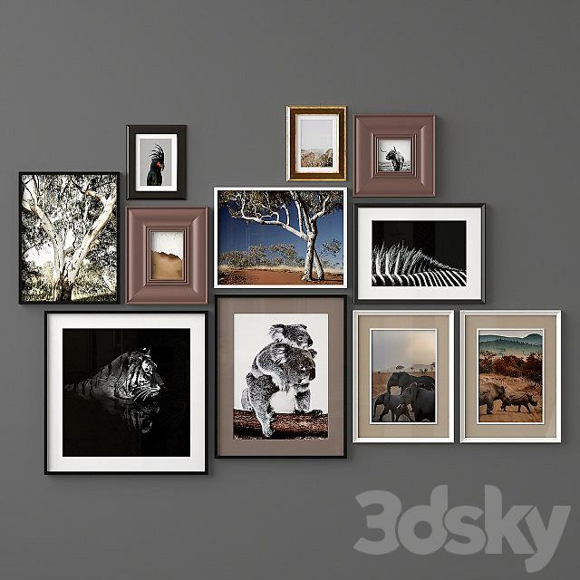 Mixed Poste Set 33