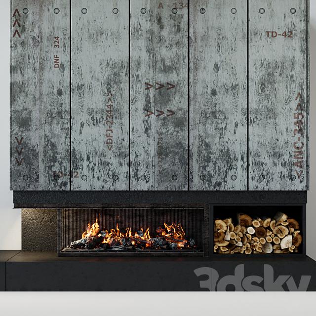 Contemporary fireplace 21
