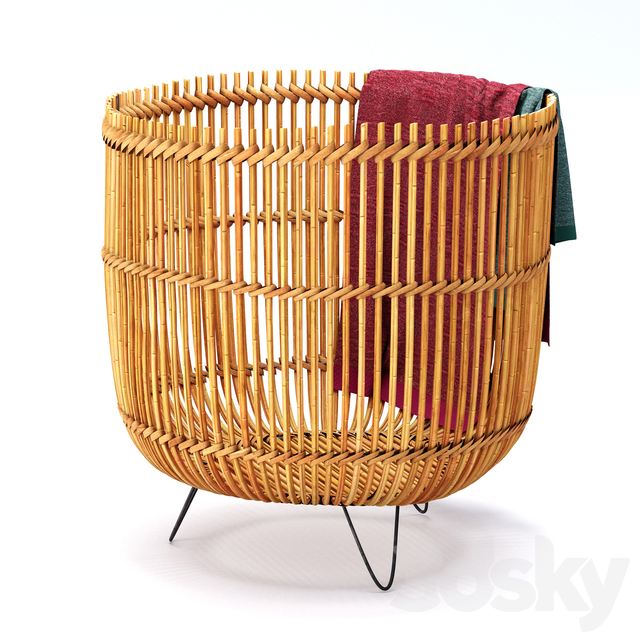 crate n barrel palos basket
