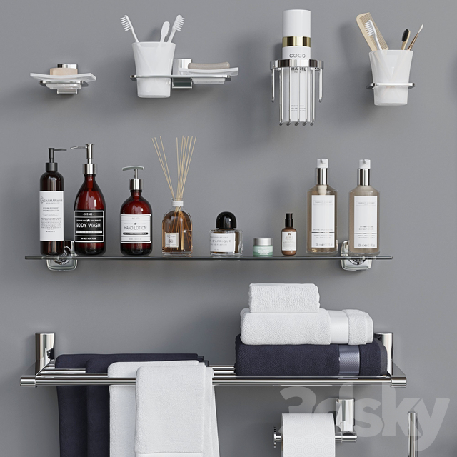 Decorative set for a bathroom 7