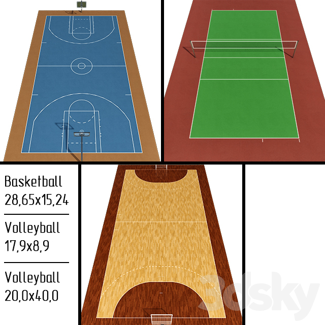 Handball / Basketball / Volleyball