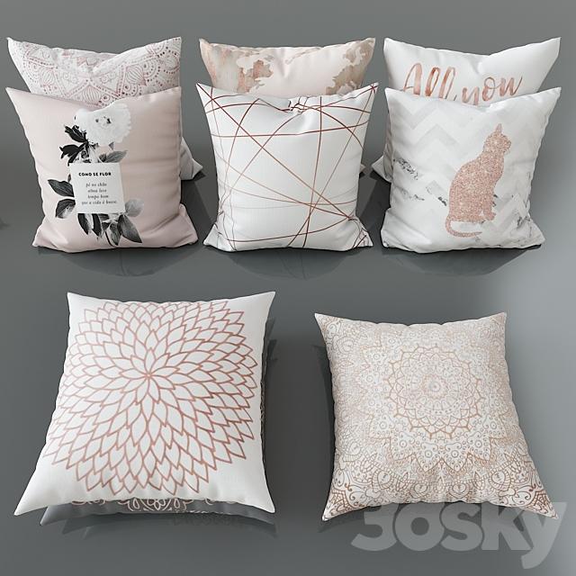 Set of decorative pillows No. 3