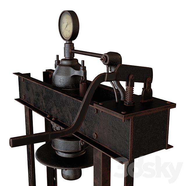 Hydraulic hand press