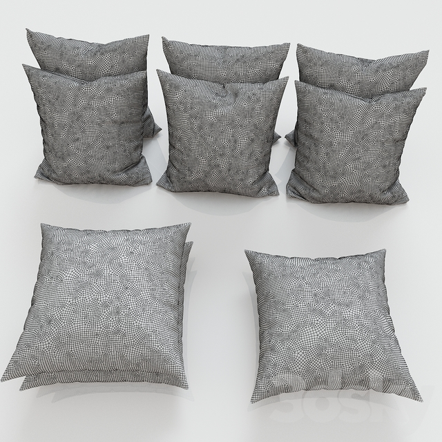 Set of decorative pillows No. 6
