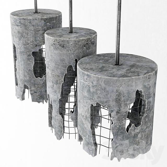 Concrete suspensions