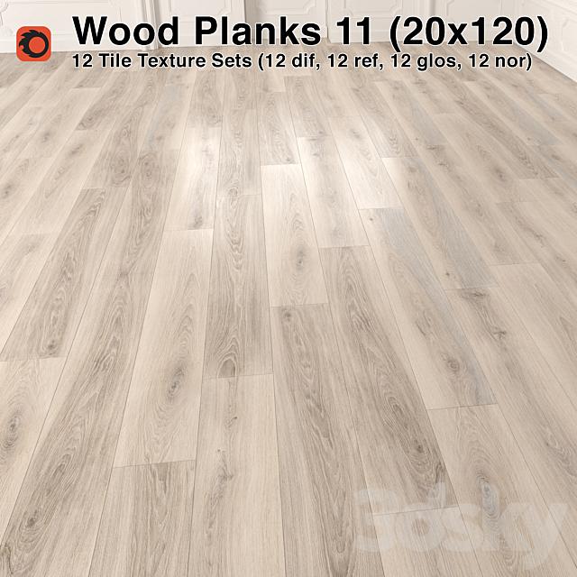 Plank Wood Floor - 11 (20x120)
