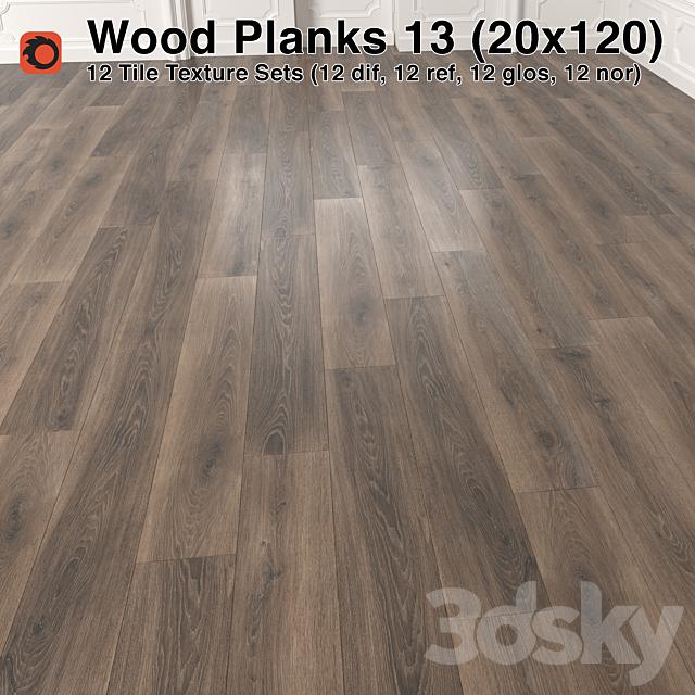 Plank Wood Floor - 13 (20x120)