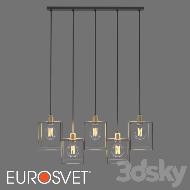 OM Loft pendant lamp TK Lighting 4198 Cayo