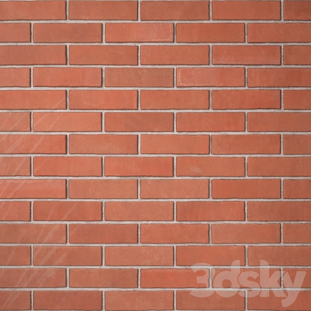 Brick red masonry