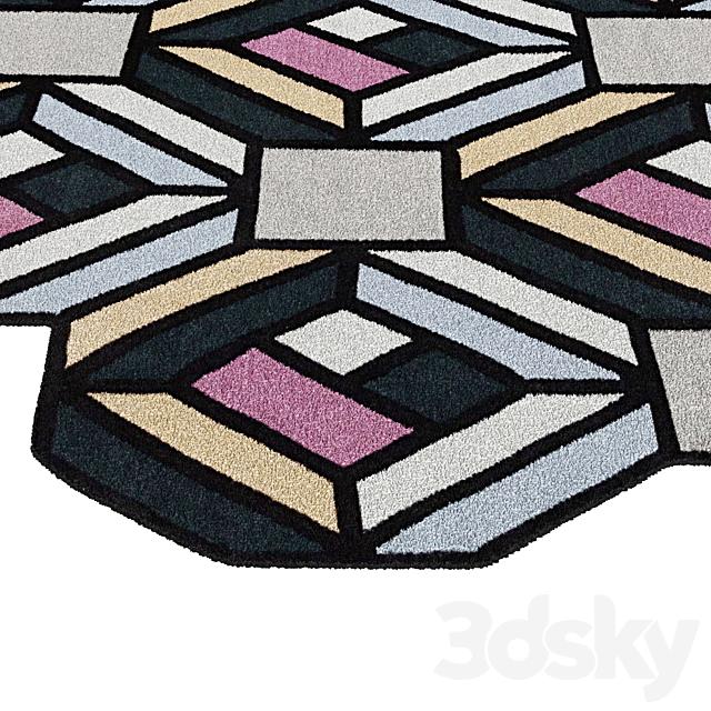 Tetragon Rug by GAN