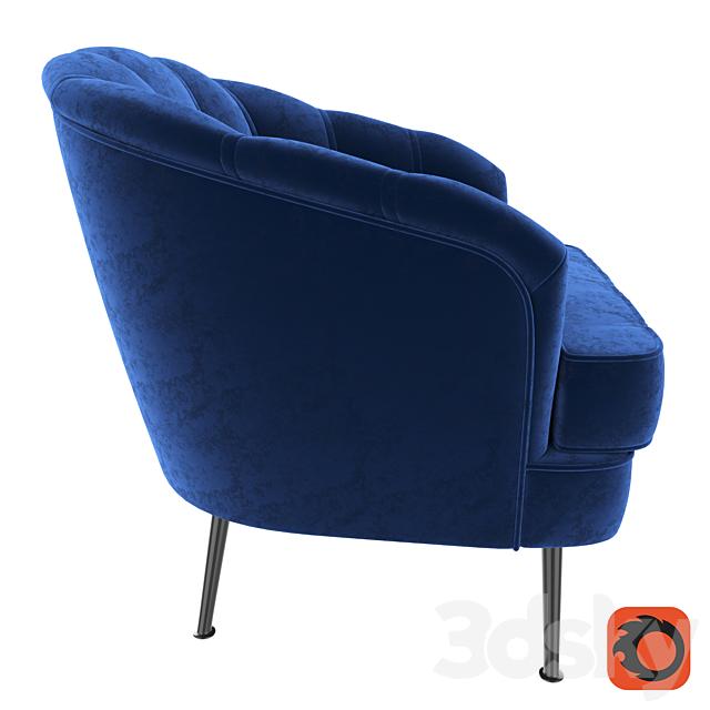 Tiffany blue velvet wing