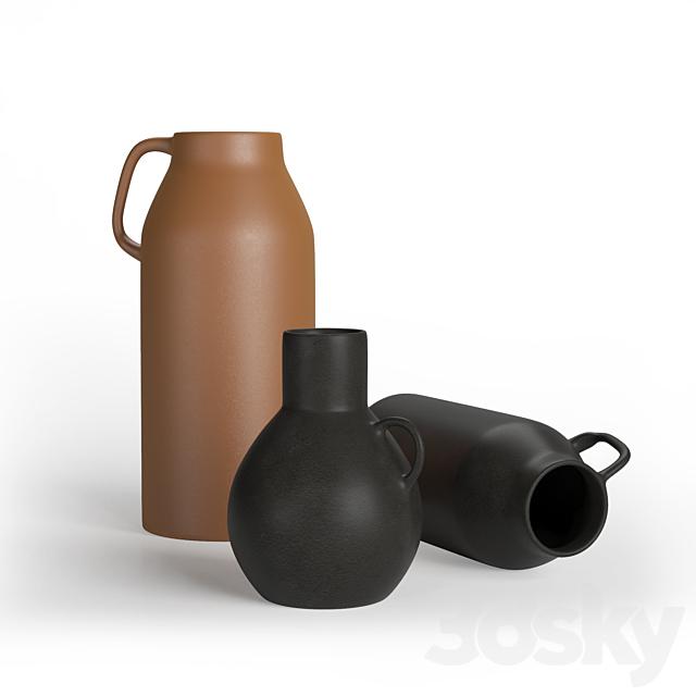 H&M Stoneware vase