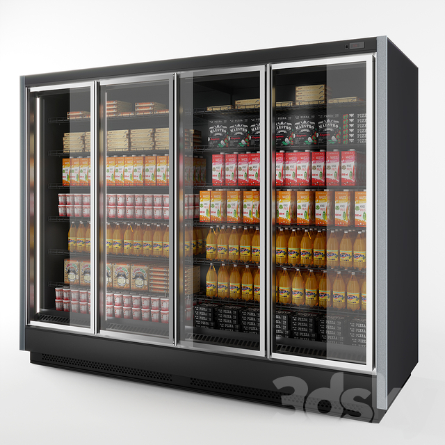 Refrigerated wall cabinet Brandford Tesey Esc