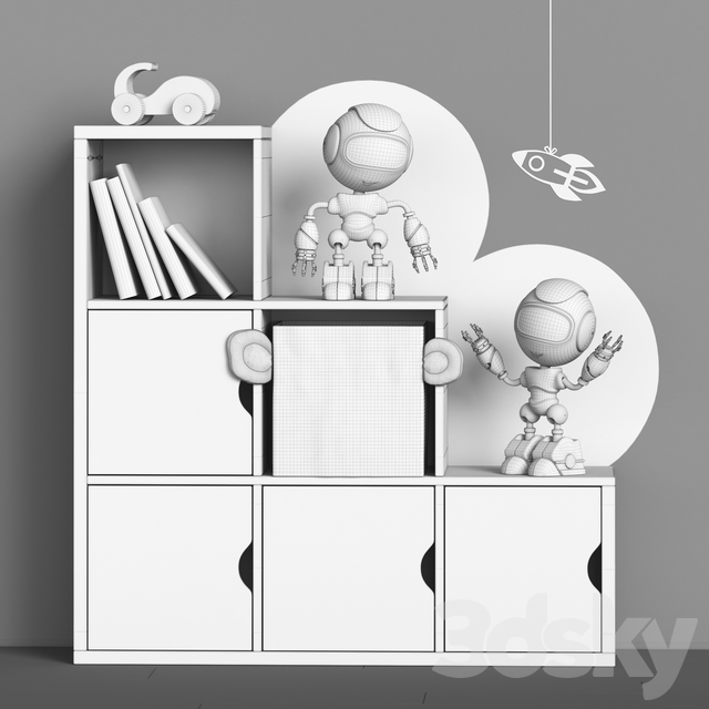 Toys and furniture set 58