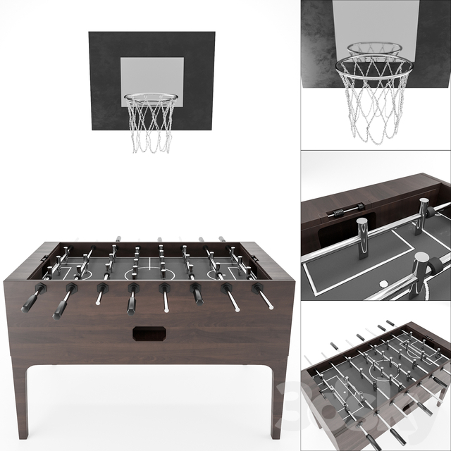 table football and basketball Hoop