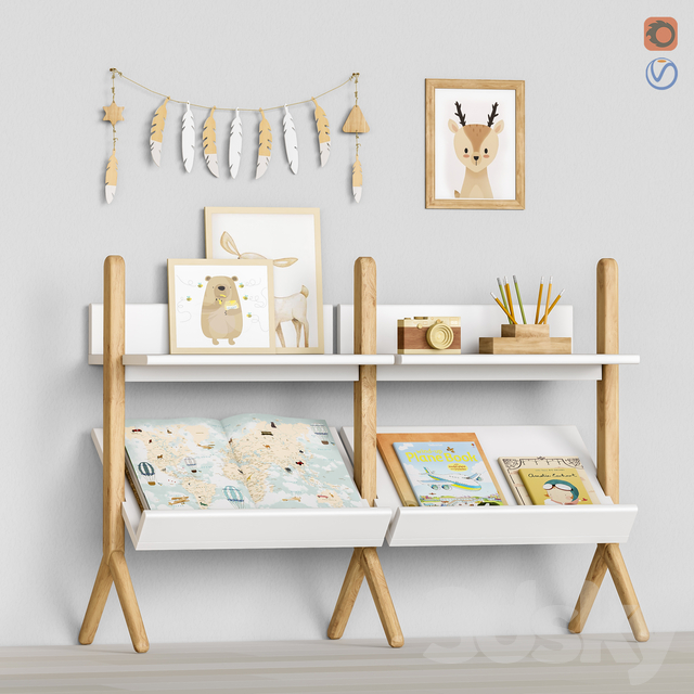 Toys and furniture set 59