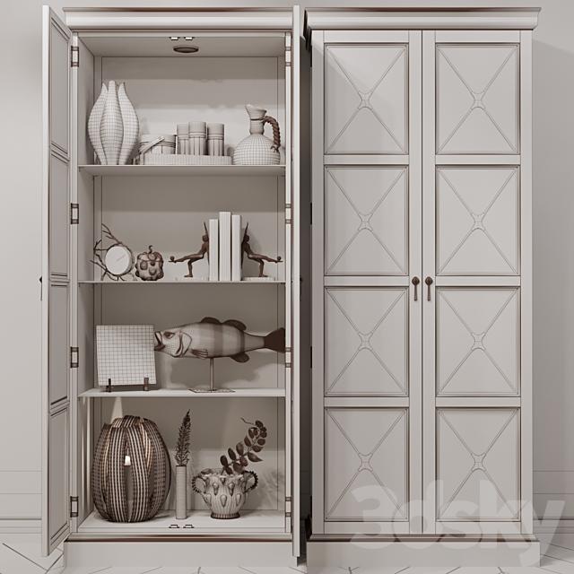 Bernhardt Rustic Patina Curio cabinet with filling