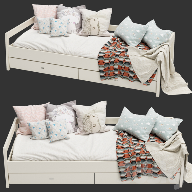 Crib Daybed Large From Mint Factory No. 2