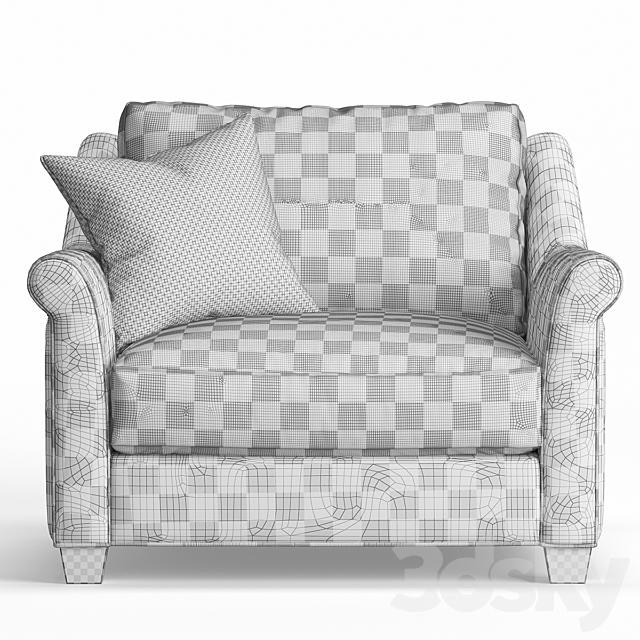 Shearson Armchair by Jonathan Louis