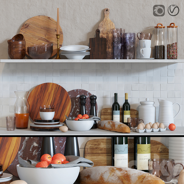 Decorative set for the kitchen 3