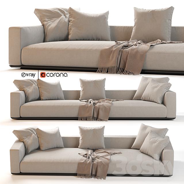 Flexform Grandemare Sectional Sofa