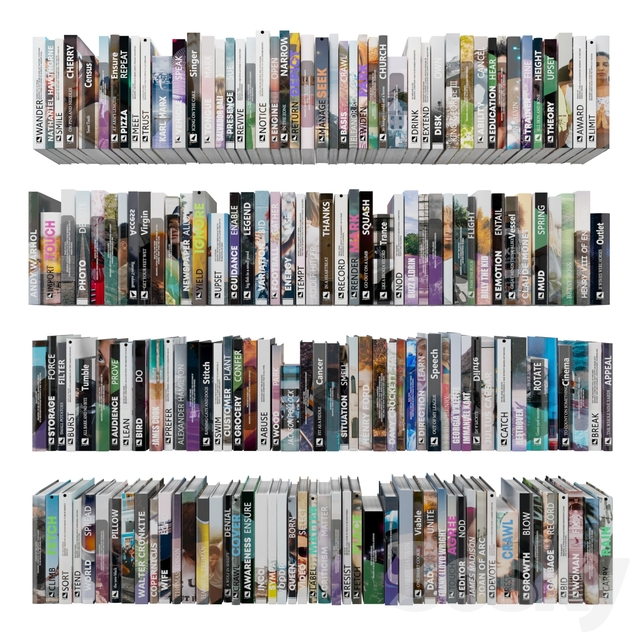 Books (150 pieces) 1-2-16-2