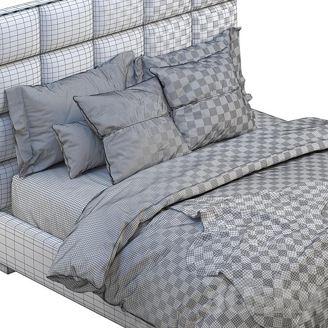 Minviso headboard bed