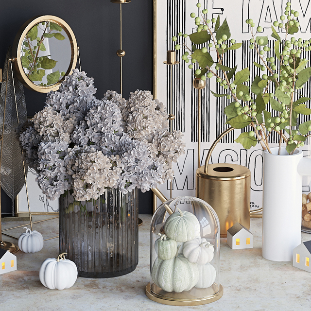 Autumn decorative set 6