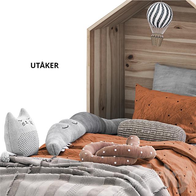 UTAKER IKEA / DECK IKEA with headboard
