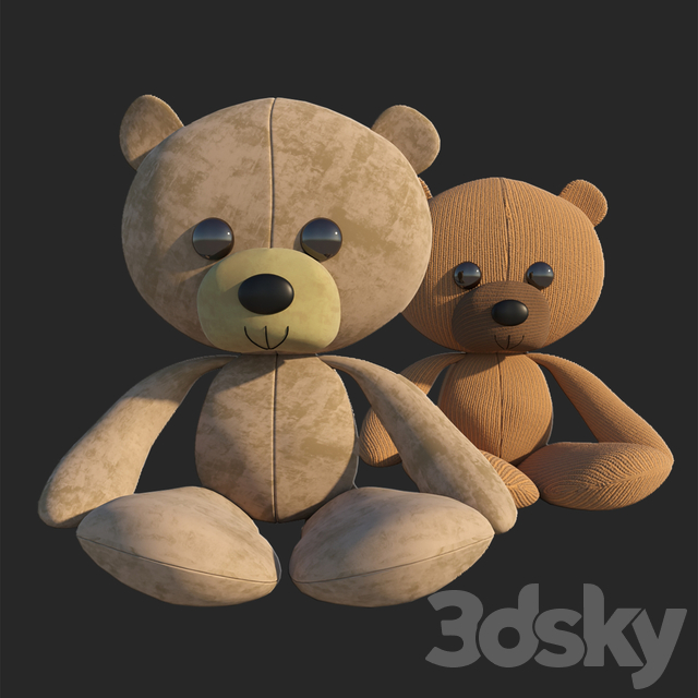 Children's toy teddy bear