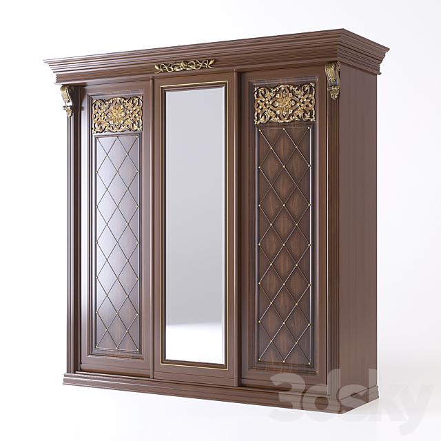 The benefit of furniture B8.72-3 / 1 wardrobe Classic