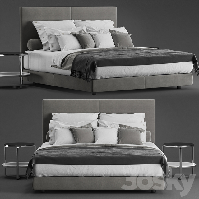 Flexform Oltre Bed
