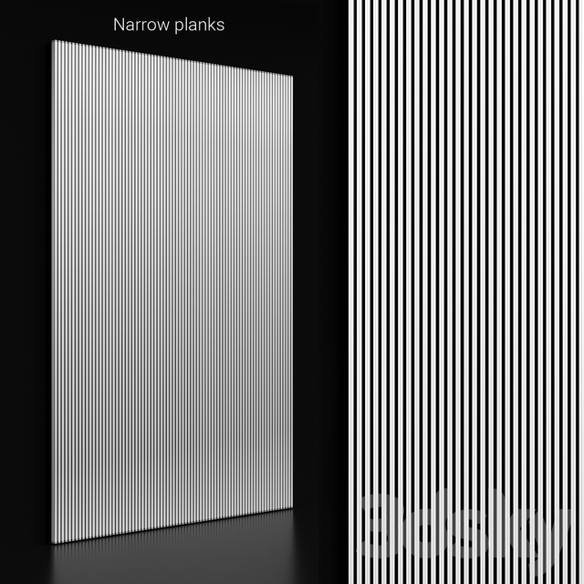 Narrow planks