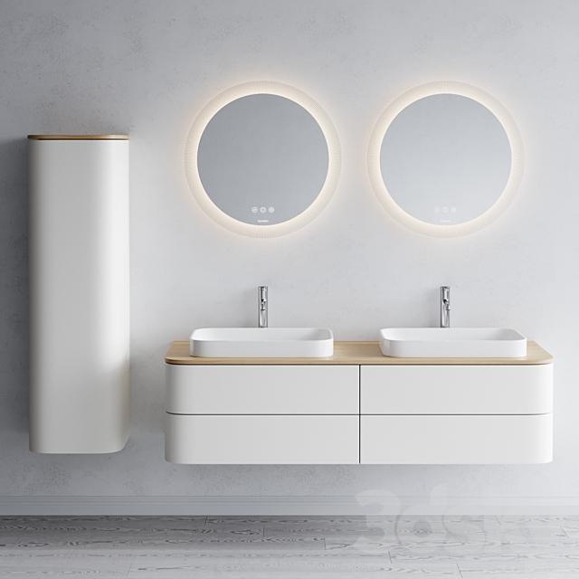 Duravit HAPPY D.2 PLUS   Double vanity unit