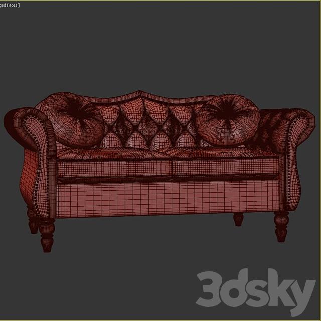 Lora Dog Sofa with Solid Foam Cushion