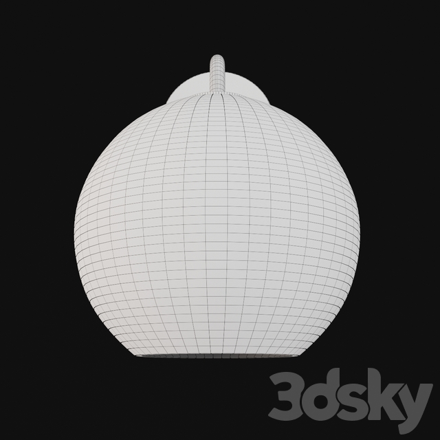 Utilitaire Globe Shade Single Sconce Silver