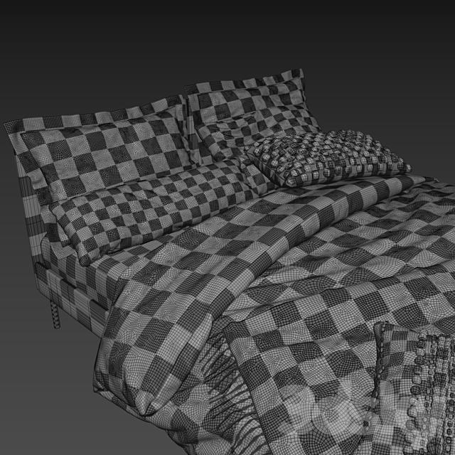 IKEA SLATTUM Bed x Adairs Australia