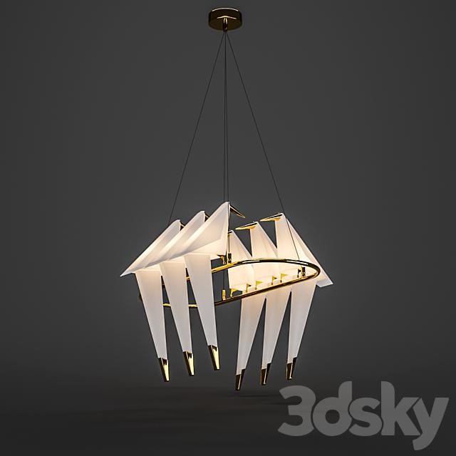Pendant lamp BLS 11981 Origami Bird