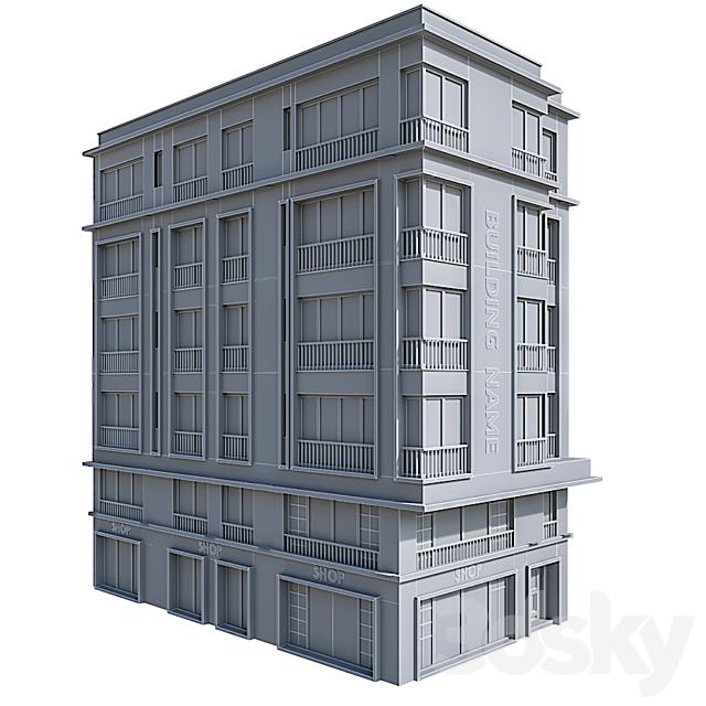 Modern Residential Building 21