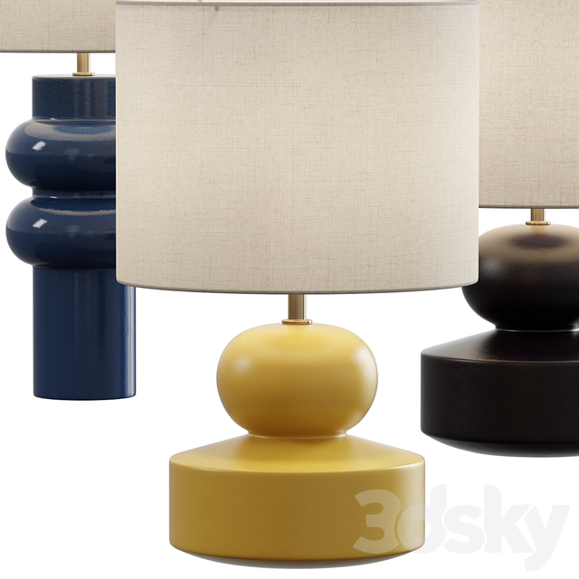 West Elm / Modern Totem Table Lamp