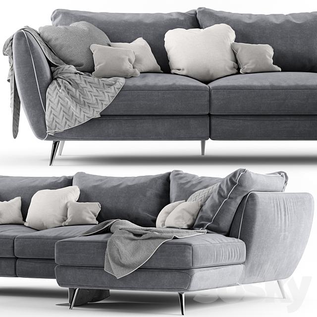 Corner sofa Stella