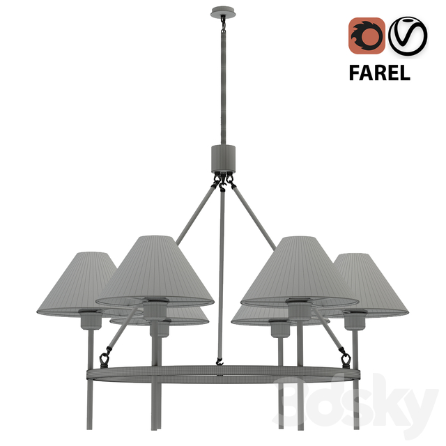 Chandelier lampatron FAREL