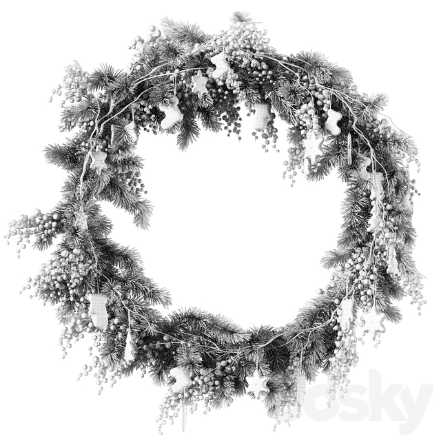 Christmas Wreath v2