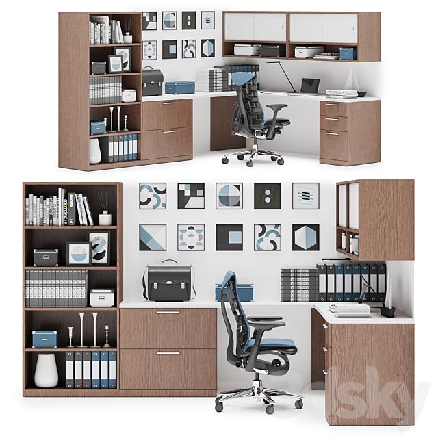Herman Miller Canvas Private Office (v13)