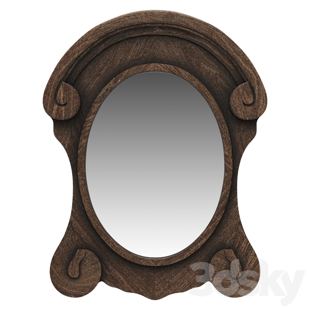 Dantone Home Mirror Brugge curly